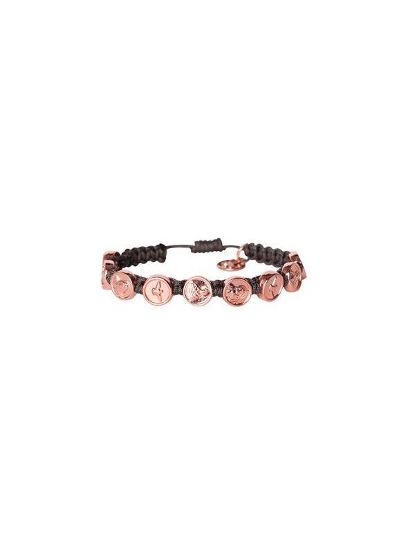 Rose Gold Trinity Bracelet