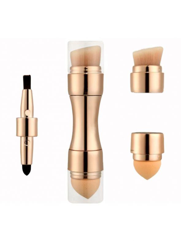 4-in-1 Ultimate Makeup Brush