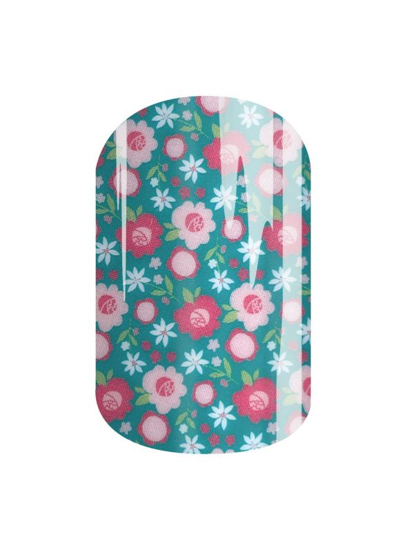 Happy Blooms - Nail Wrap