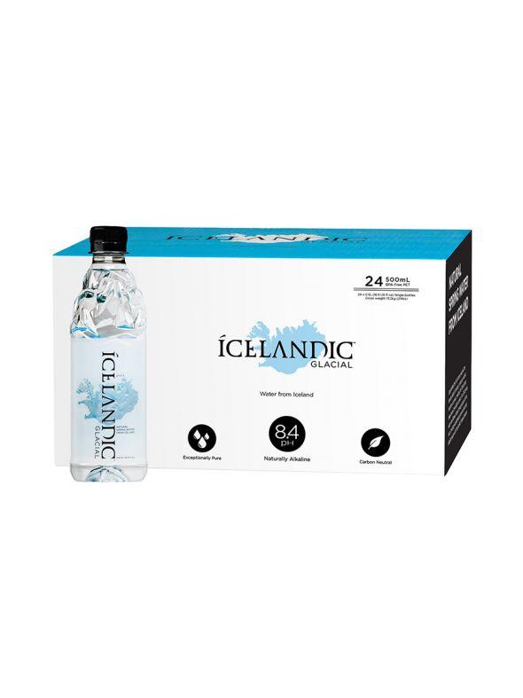 Icelandic Glacial Water [500mL] 1x case   24 bottles
