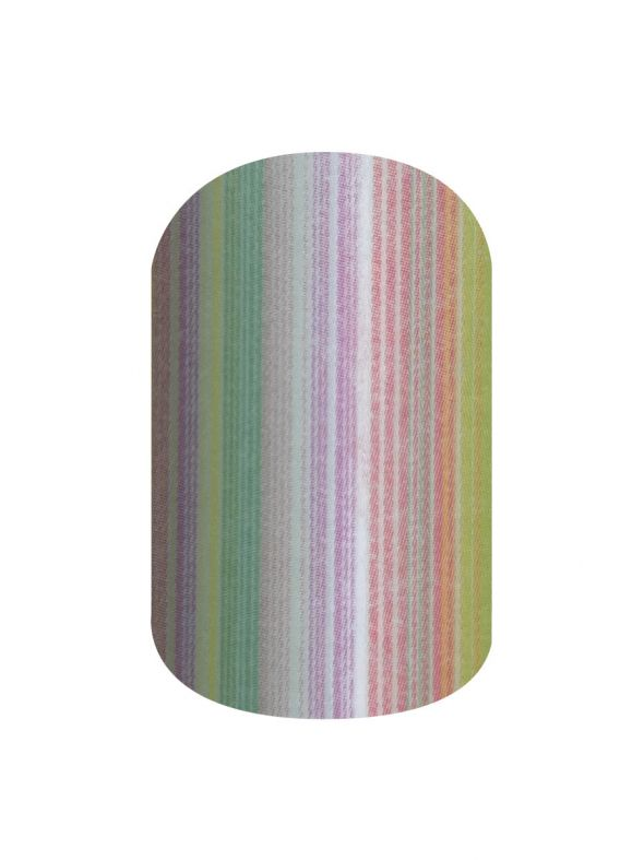 Pastel Stripes - Nail Wrap