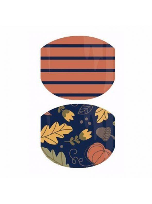 Pumpkin Patch Jr - Nail Wrap