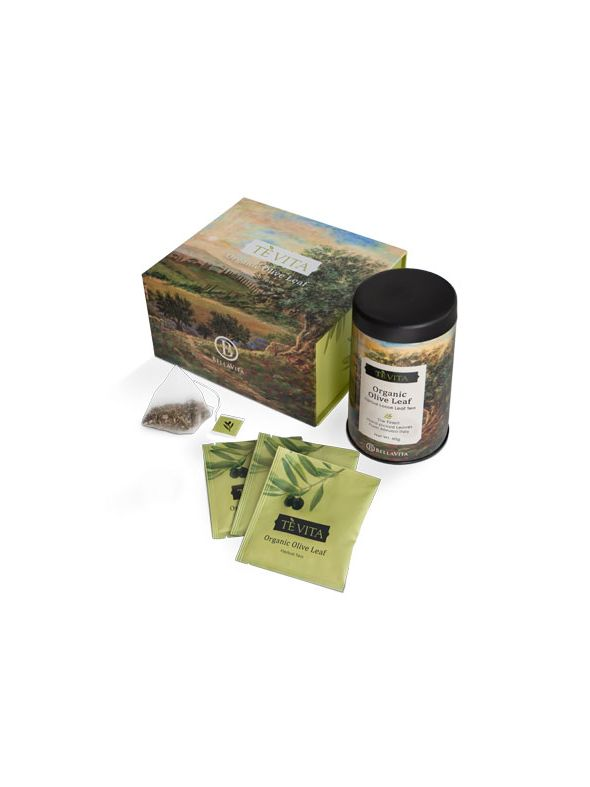 Tè Vita Olive Leaf Tea – 1 Box