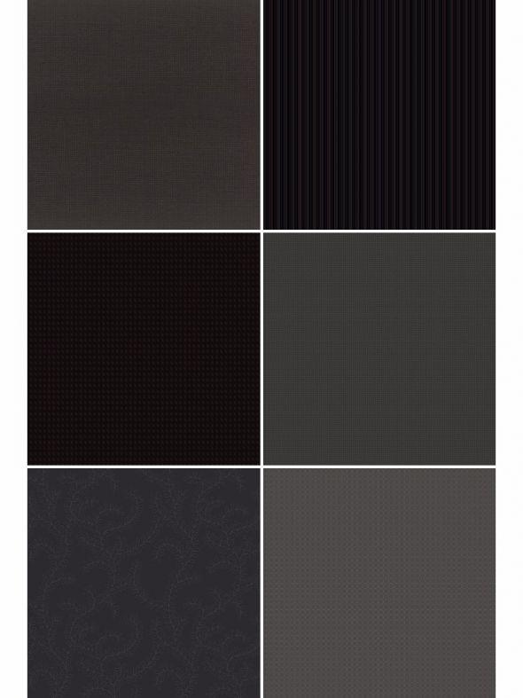 Black Noir Designer Refill Pages - Set 18