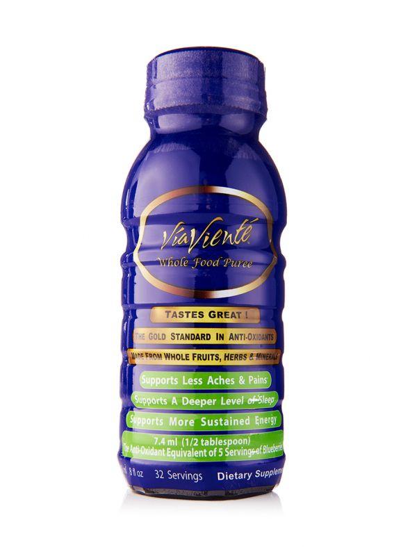 ViaViente Whole Food Puree (1-8oz Bottle)