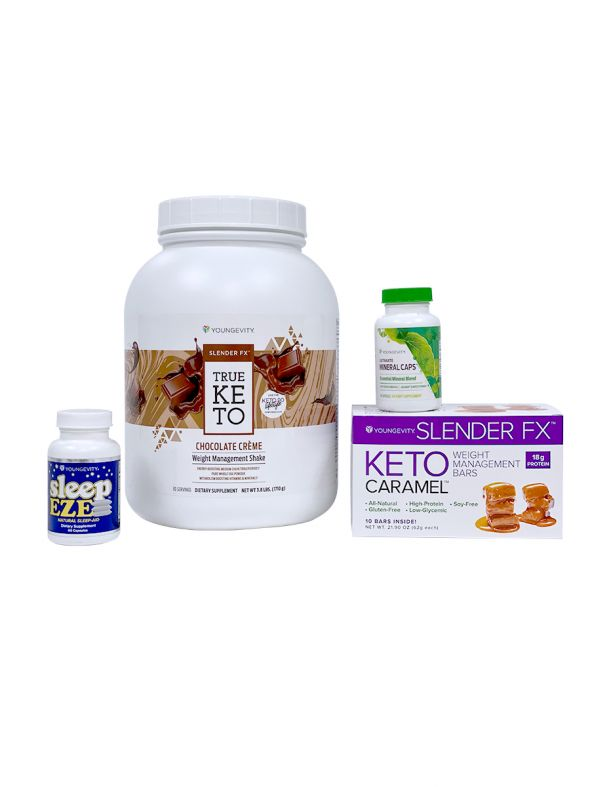 Keto 90 Chocolate Crème Better Health Challenge Pak